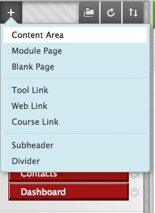 Content areas and pages-1