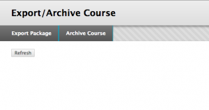 Export-archive a course-2