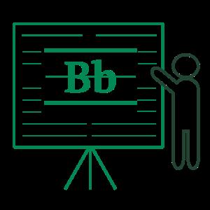 Blackboard Training Image